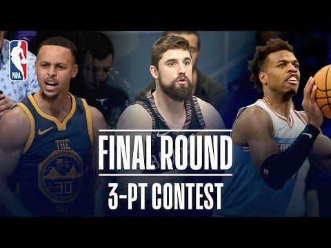 3-PT Contest Final Round   Joe Harris, Buddy Hield, Steph Curry Face Off!   2019 NBA All-Star