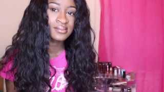 dyhair777 com lace wig install and initial review