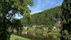 Urlaub im Elbsandsteingebirge: der Kurort Bad Schandau auf Video