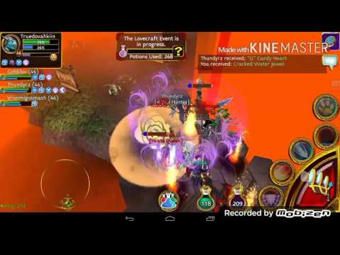 Arcane Legends  Lovecraft Event 2016  GM's Goldilox And Vroomigosmash Twitch Stream Run.