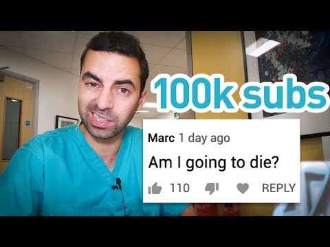 Unhelpful doctor answers your questions for 43 straight minutes (100k sub Q&A)