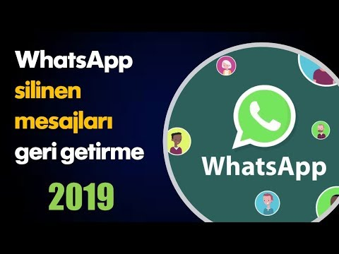 WhatsApp Silinen Mesajları Geri Getirme | 2019