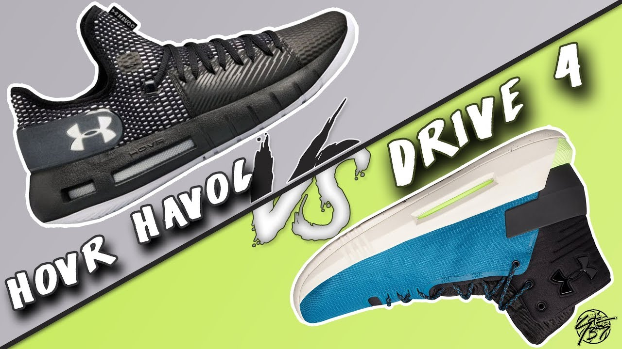 e8fc3e6f539 Under Armour Hovr Havoc Low vs UA Drive 4! The Sole Brothers