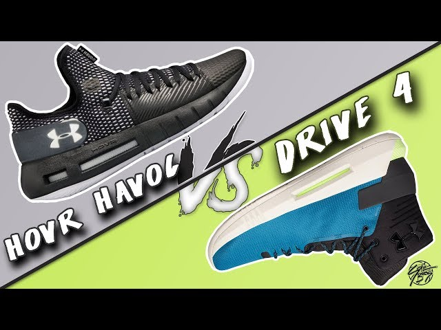 Under Armour Hovr Havoc Low vs UA Drive 4!