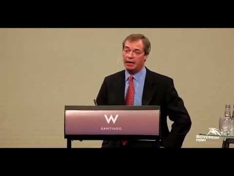Nigel Farage on wholesale, violent revolution in Europe