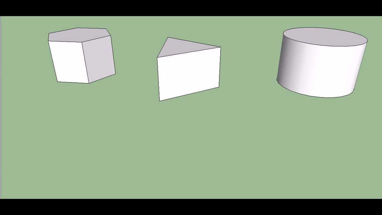 figuras 3d youtube. Black Bedroom Furniture Sets. Home Design Ideas