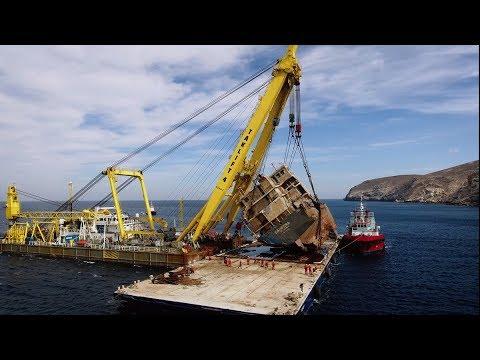 Smit Salvage - Cabrera wreck removal