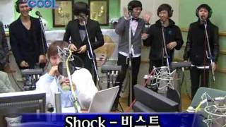 101027 비스트 BEAST Shock Live @Kiss The Radio [HQ]