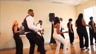 "Bridal Party Dance- Chris Brown's ""Fine China"" Line Dance"
