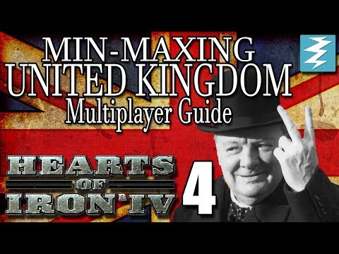 HOW TO INVADE ITALY [4] Multiplayer United Kingdom - Hearts of Iron IV HOI4