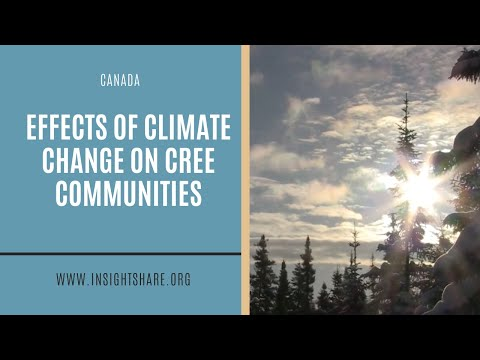 Call to Action - Climate Change Impacts and Responses (Cree Nation of Mistissini)