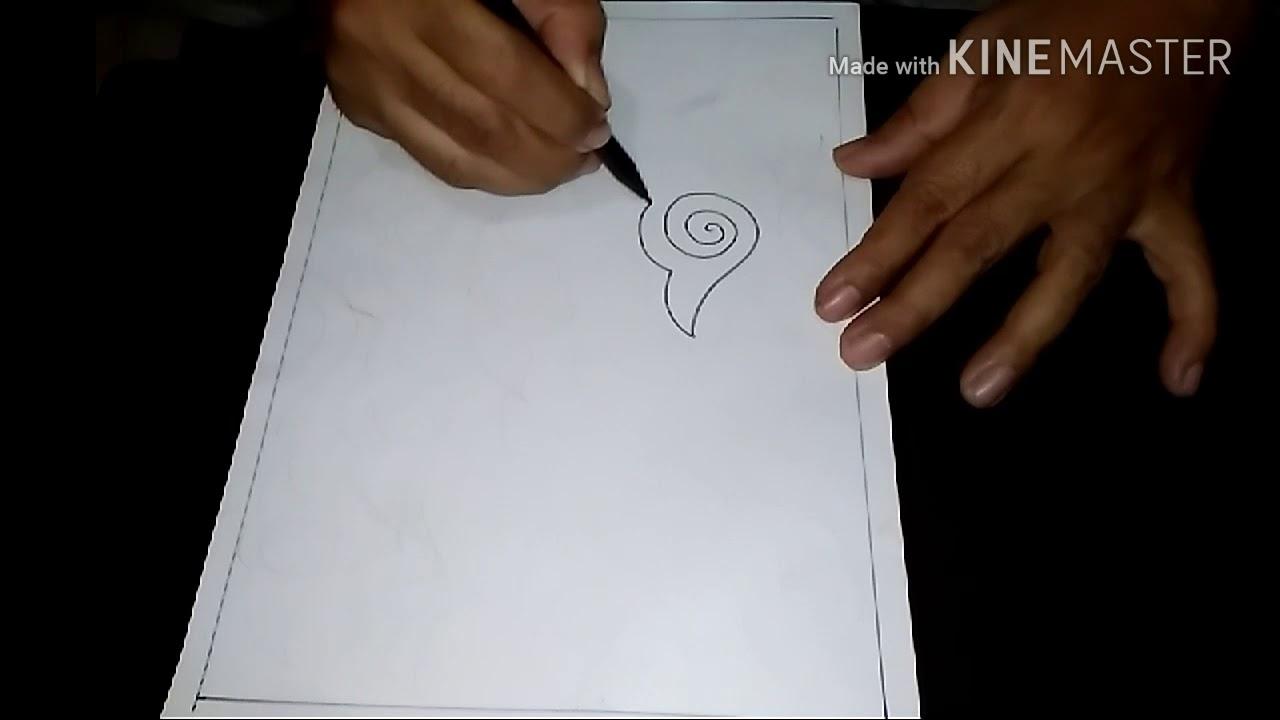 Cara Menggambar Sketsa Motif Batik Sketsa 20 Youtube