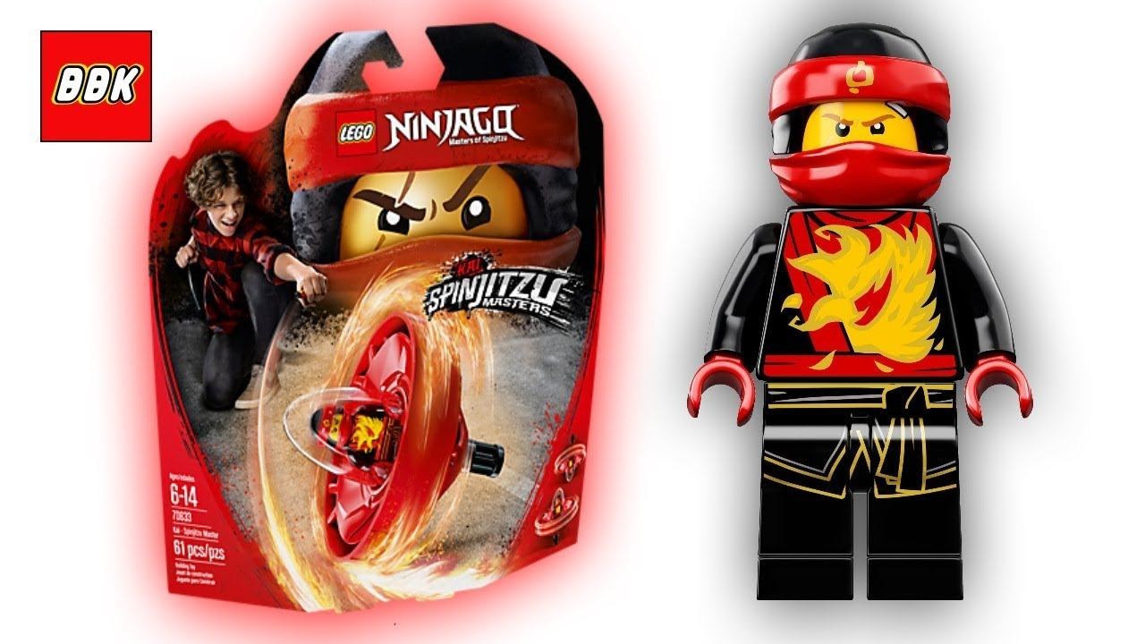 Lego Ninjago Kai Spinjitzu Master 70633 Unboxing Speed Build Review