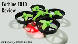 Eachine E010 - Review en Español - 2.4G 4CH 6 Axis Headless Mode RC Quadcopter RTF