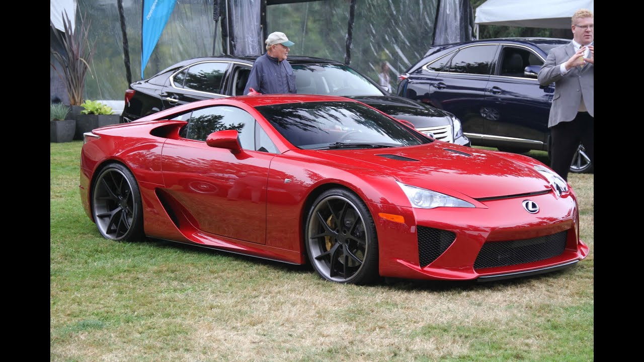 Lexus LFA LOUD Exhaust Sound V10 Revs! - YouTube