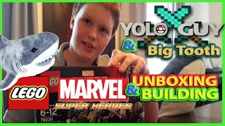Yolo Guy Marvel Lego Unboxing & Building + Extreme Lego Collection