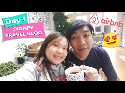 Sydney Travel Vlog Day1: Flight and Airbnb Surry Hills | Chubby Catt Vlogs