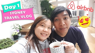 Gambar cover Sydney Travel Vlog Day1: Flight and Airbnb Surry Hills | Chubby Catt Vlogs