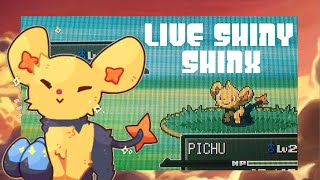 [ISHC #1] LIVE! Shiny Shinx after 1,879 REs in Pokémon Platinum!
