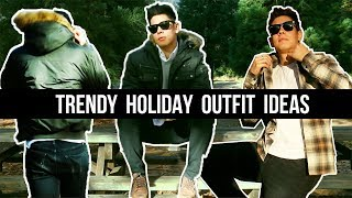 MEN'S HOLIDAY OUTFIT IDEAS (STAPLE FALL STYLES) | LOOKBOOK | JAIRWOO
