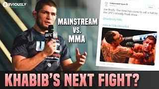 Khabib's Next Fight? Mainstream Media vs. UFC, MMA News | OFT #123