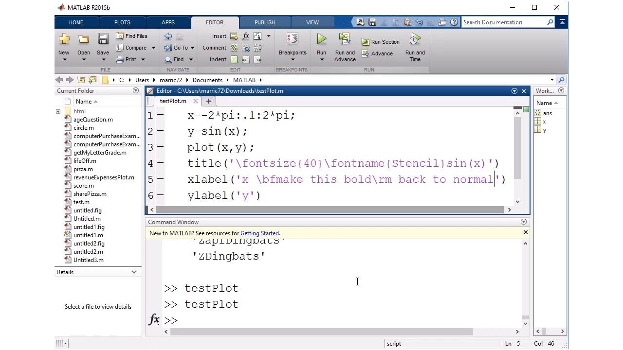 Matlab stream modifiers youtube matlab stream modifiers buycottarizona Image collections