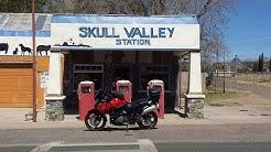 Skull Valley Arizona - Suzuki V Strom 1000