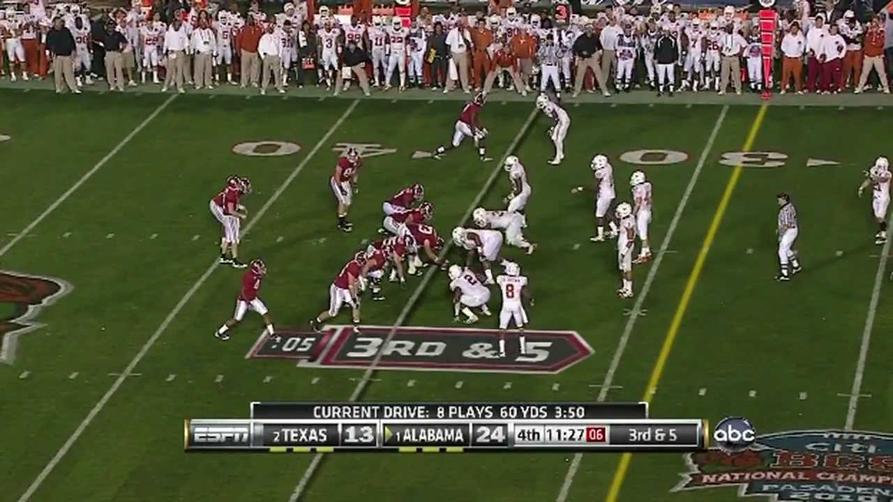 2010 BCS National Championship - Alabama Crimson Tide (1 ...