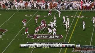 2010 BCS National Championship - Alabama Crimson Tide (1#) vs Texas Longhorns (2#)