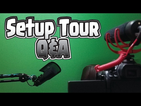 "New ""Studio"" Tour - Your Questions, ANSWERED!"