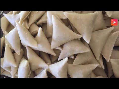 Easy way to make Arabic Yemeni samoosa/samboosa طريقة تحضير السمبوسة اليمني سهله جدا