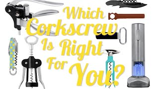 8 Types Of Corkscrews And How To Use Them