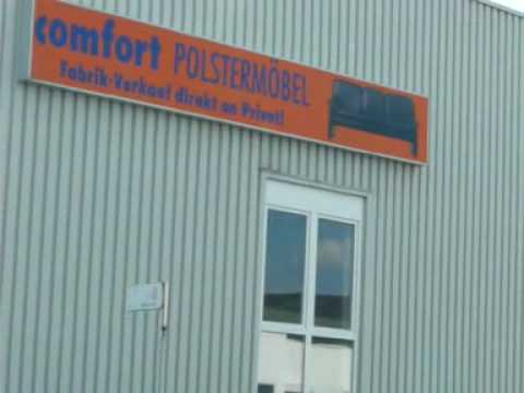 polsterm bel outlet in metzingen youtube. Black Bedroom Furniture Sets. Home Design Ideas