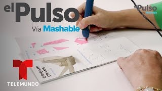 El Pulso | POWER UP: 3Doodler Create Plus review en español: lápiz de impresión en 3D | Telemundo