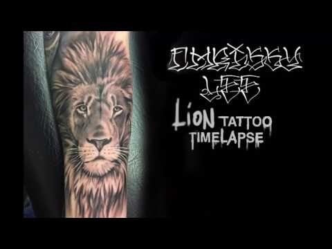 Forearm Lion Tattoo Ideas