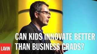 Tom Wujec: Can Kids Innovate Better than Business Grads?