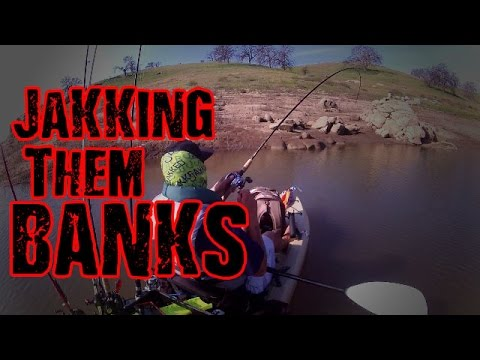 JaKKing Them Banks (Hensley Lake, March 11th, 2017 Bass Fishing)
