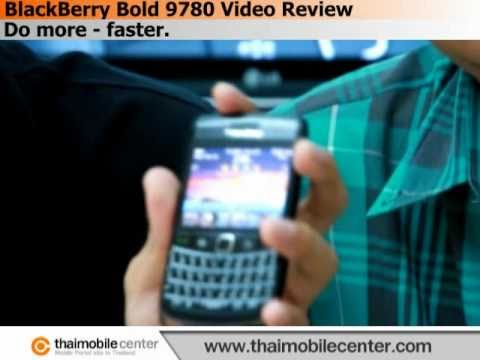 BlackBerry Bold 9780 Video Review