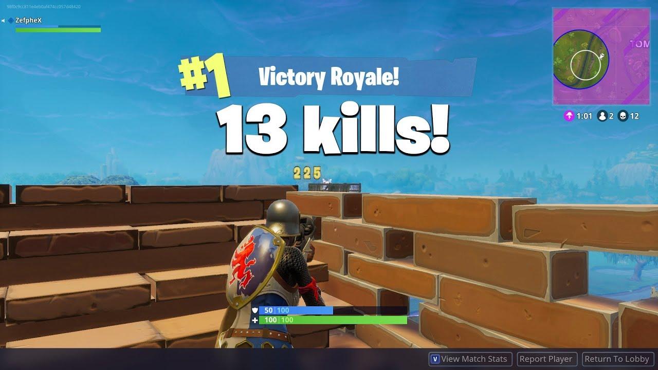 Fortnite   13 Kill Solo Win Quick Edit! [PC] [Re-Upload]