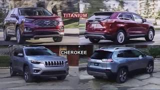 2019 Edge Titanium VS 2019 Jeep Cherokee | STYLE OF CAR