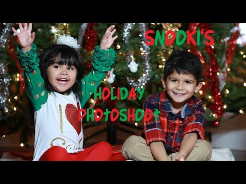 SNOOKI'S HOLIDAY PHOTOSHOOT with Lorenzo & Giovanna