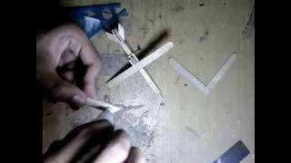 Landasan Miniatur Pesawat Dari Stick ice Cream part #2