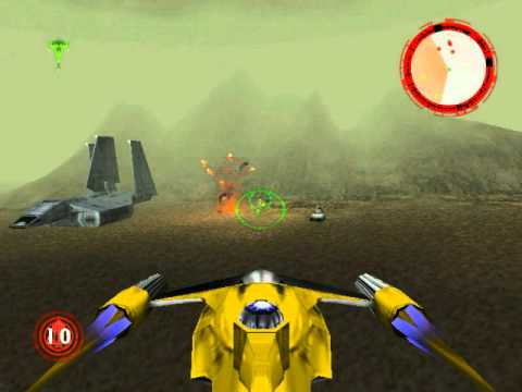 Star Wars Rogue Squadron mission 3 The search for the Nonnah naboo  starfighter