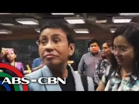 ANC Live: Rappler chief's arrest has 'nothing to do with freedom of expression' - Panelo