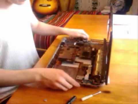 Разборка и сборка ноутбука HP