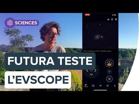 Test de l'eVscope, un smart télescope pour observer l'univers   Futura