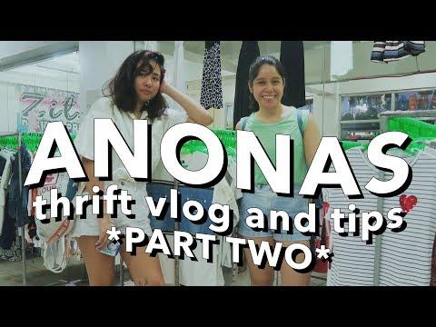 THRIFT WITH ME: ANONAS LRT 4 FLOOR UKAY (Philippines)