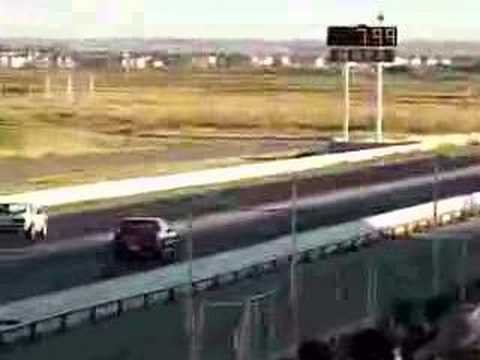 1991 Grand Am 1/4 mile 2nd run Quad 4 (08/24/07)