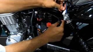 Instalação do alarme Pósitron DuoBlock dedicado para Honda CG 125 Fan