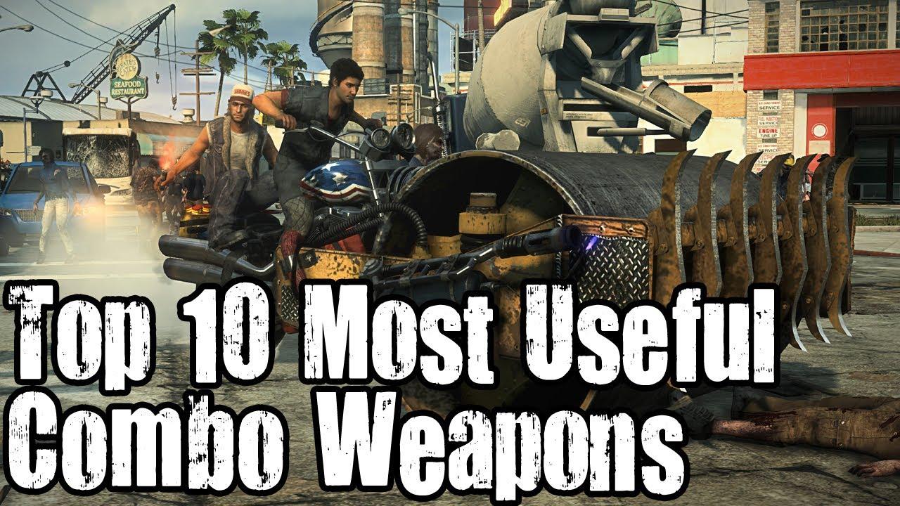 dead rising 3 weapon list - photo #37
